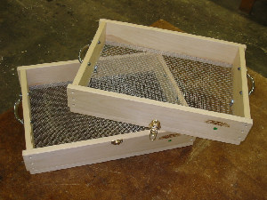 Stacking Hand Sieves