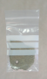"""3"""" x 5"""" 4 mil Bags With White Block Label 1000 ct."""