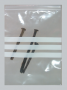"""9"""" x 12"""" 4 mil Bags With White Block Label 5000 ct."""