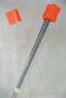 Orange Pin Flags