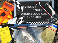 Stoney Knoll Archaeological Supplies